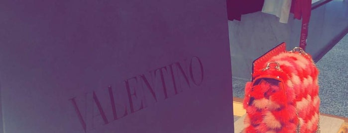 Valentino is one of NY stores.