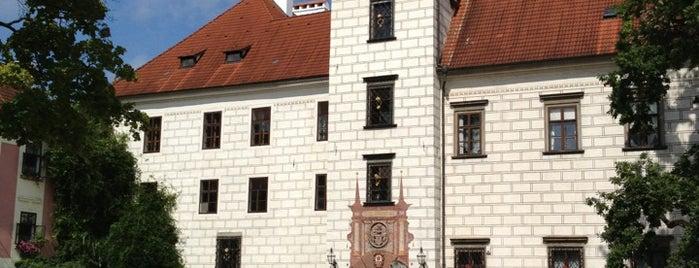 Státní zámek Třeboň is one of Sightseeing.