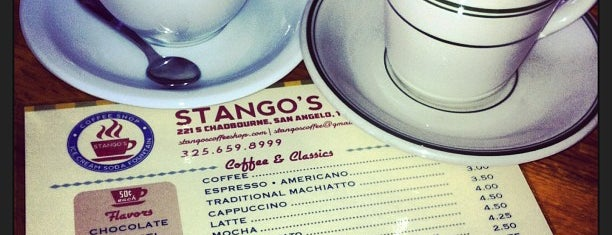Stango's Coffee & Pizza Shop is one of Lugares favoritos de Samantha.