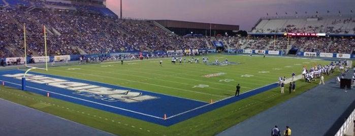 "Johnny ""Red"" Floyd Stadium is one of College Football Stadiums."