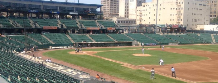 Chukchansi Park is one of Minor League Ballparks.
