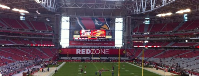 State Farm Stadium is one of NFL Stadiums.