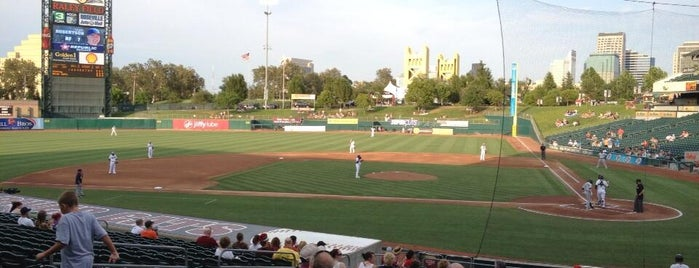 Raley Field is one of Minor League Ballparks.