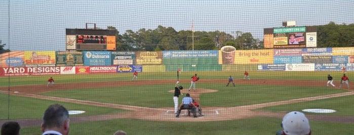 Arthur W Perdue Stadium is one of Minor League Ballparks.
