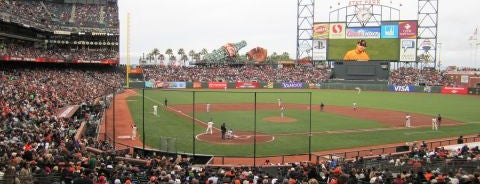 Oracle Park is one of MLB Stadiums.
