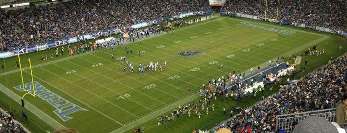 Nissan Stadium is one of NFL Stadiums.