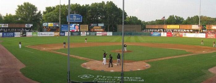 Northwestern Medicine Field is one of Minor League Ballparks.