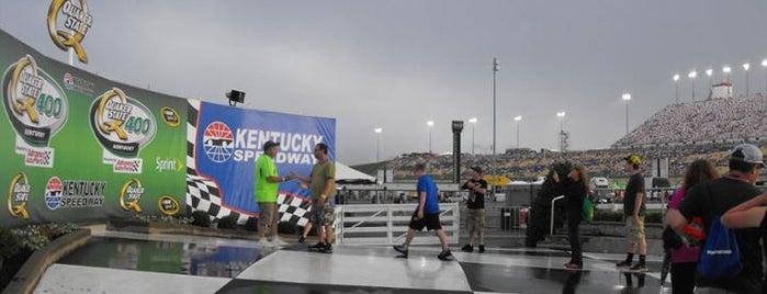 Kentucky Speedway is one of NASCAR tracks.