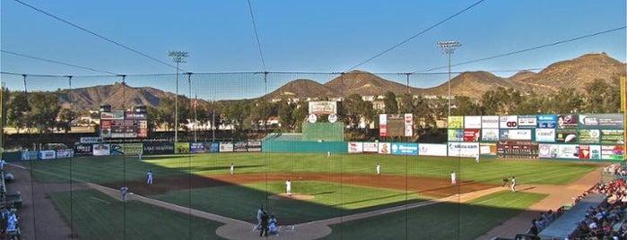 Lake Elsinore Diamond is one of Minor League Ballparks.