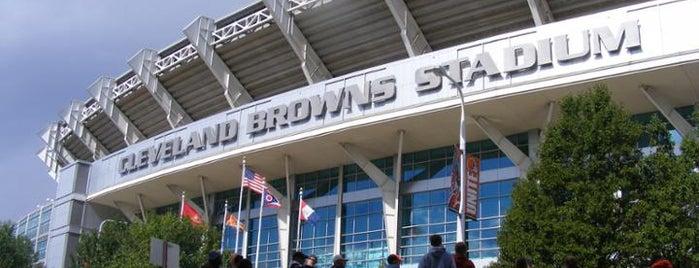 FirstEnergy Stadium is one of NFL Stadiums.