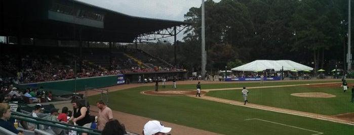 Historic Grayson Stadium is one of Minor League Ballparks.