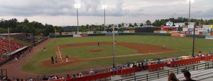 LP Frans Stadium is one of Minor League Ballparks.