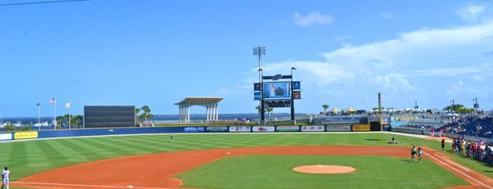 Blue Wahoos Park is one of Minor League Ballparks.