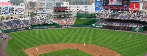 Nationals Park is one of MLB Stadiums.