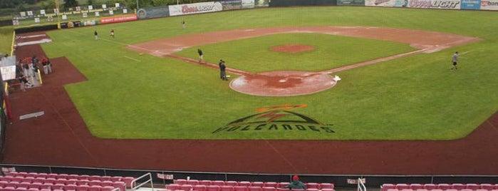 Volcanoes Stadium is one of Minor League Ballparks.