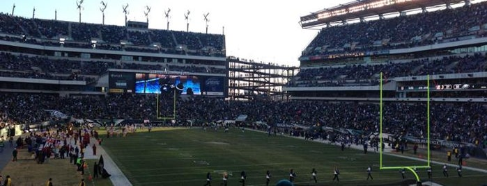 Lincoln Financial Field is one of Frolic!.