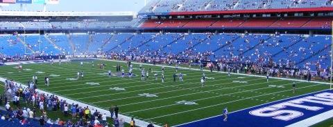 Highmark Stadium is one of NFL Stadiums.