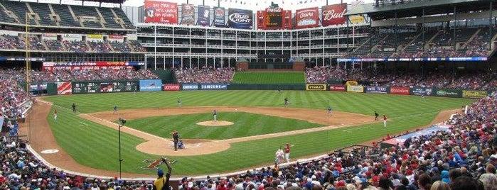 Globe Life Park in Arlington is one of MLB Stadiums.