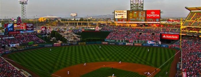 Angel Stadium of Anaheim is one of MLB Stadiums.