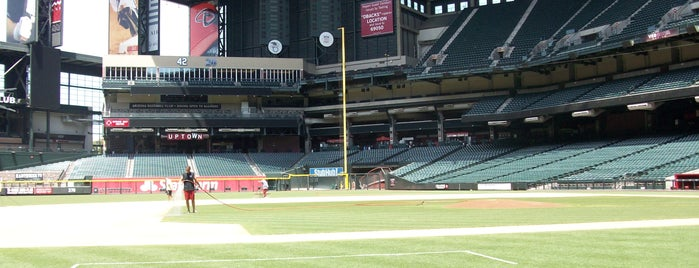 Chase Field is one of MLB Stadiums.