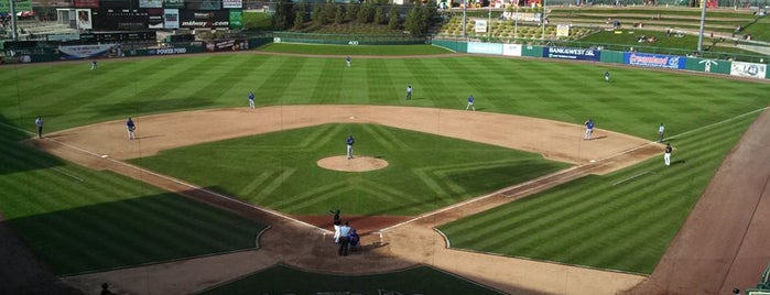 Isotopes Park is one of Minor League Ballparks.