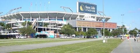 Hard Rock Stadium is one of NFL Stadiums.