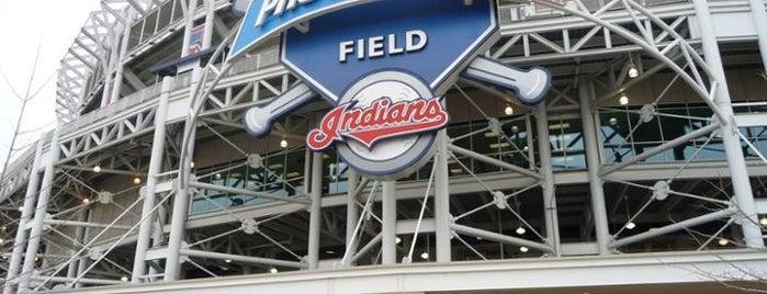 Progressive Field is one of MLB Stadiums.