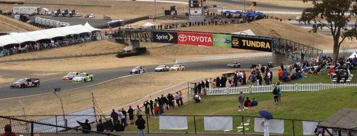 Sonoma Raceway is one of NASCAR tracks.