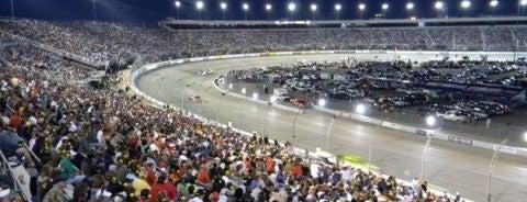 Richmond International Raceway is one of NASCAR tracks.