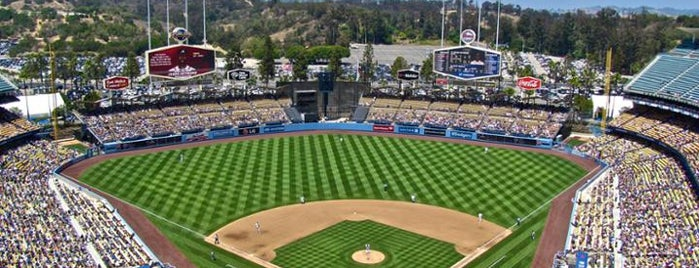 Dodger Stadium is one of MLB Stadiums.