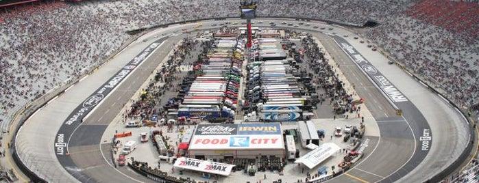 Bristol Motor Speedway is one of NASCAR tracks.