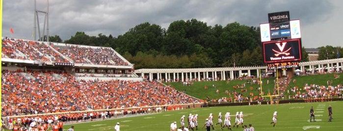 Scott Stadium is one of College Football Stadiums.