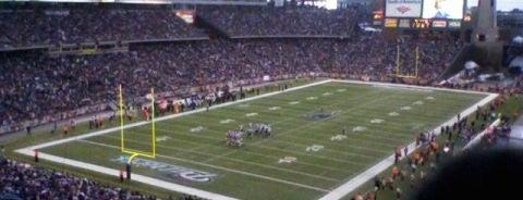 Gillette Stadium is one of NFL Stadiums.