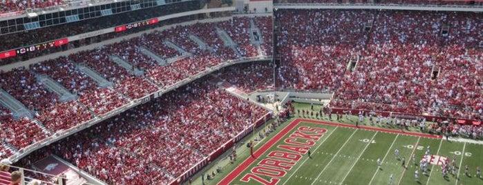 Donald W Reynolds Razorback Stadium is one of College Football Stadiums.