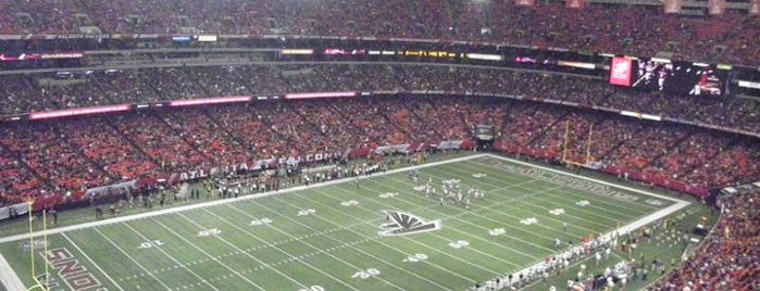 Georgia Dome is one of NFL Stadiums.