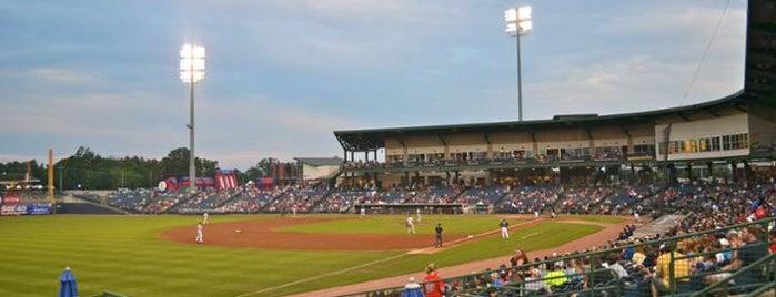 Trustmark Park is one of Minor League Ballparks.