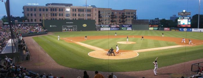 Fluor Field at the West End is one of Minor League Ballparks.