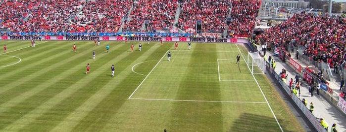 BMO Field is one of MLS Stadiums.