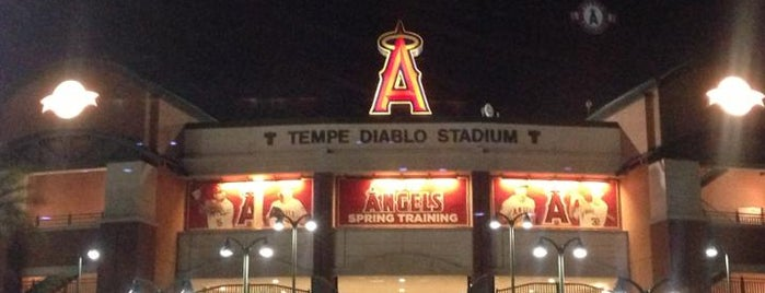 Tempe Diablo Stadium is one of Minor League Ballparks.