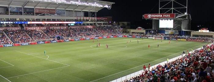 SeatGeek Stadium is one of MLS Stadiums.
