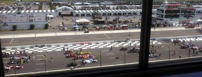 Pocono Raceway is one of NASCAR tracks.