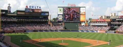 Turner Field is one of MLB Stadiums.