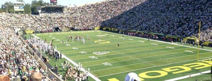 Autzen Stadium is one of College Football Stadiums.