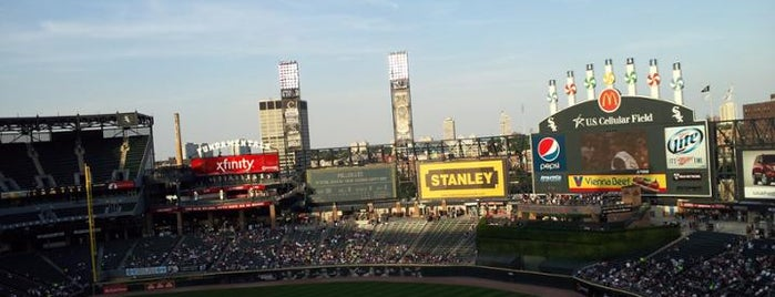 Guaranteed Rate Field is one of MLB Stadiums.