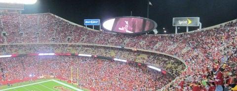 Arrowhead Stadium is one of NFL Stadiums.