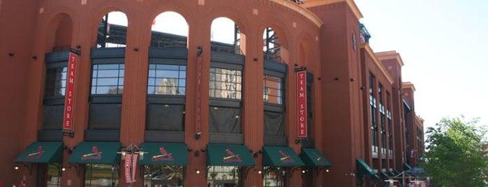 Busch Stadium is one of MLB Stadiums.