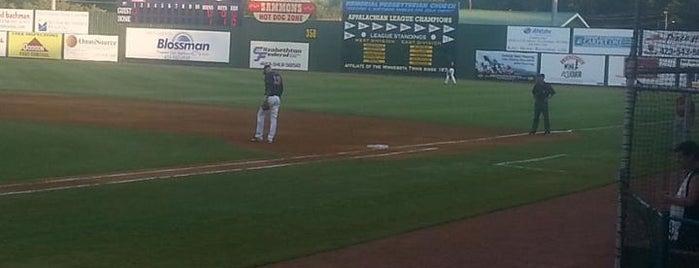 Joe O'Brien Field is one of Minor League Ballparks.