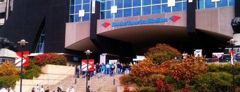 Bank of America Stadium is one of NFL Stadiums.