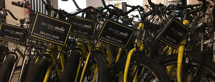 Buzz Nola Bike Tours and Rentals is one of When in New Orleans.