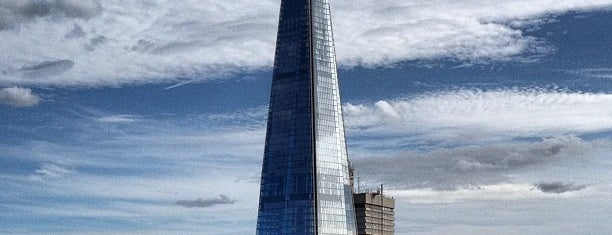 The Shard is one of London To Dos.
